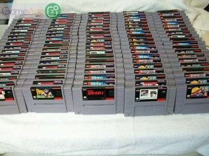 Super-Nintendo-Snes-Huge-Wholesale-Video-Game-Lot-Of-100